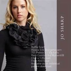 How To Make A ruffled Scarf with bow - Bing Images