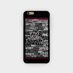 Buy Grey's Anatomy Quotes iPhone Case #iphonecase #iphone6case #phonecases