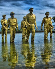 Monument, Palo, Leyte, Visayas (Gen. Douglas McArthur  world War II 1941-1945)