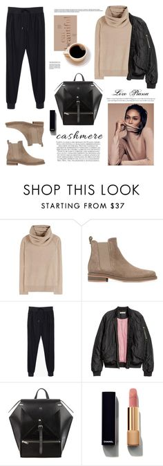 """""""The Loro Piana Cashmere Sweater"""" by barngirl on Polyvore featuring Loro Piana, rag & bone, Chanel and Bookspeed"""