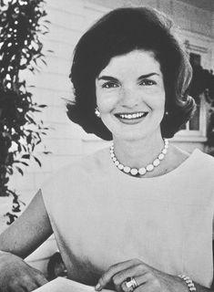 Jackie Kennedy in Hyannis Port, 1960.