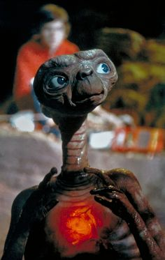 E.T. changed the way us 80s kids looked at so many things... hoodies, bicycles, Reese's Pieces...