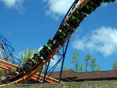 Steamin' Demon at Six Flags The Great Escape in New York.