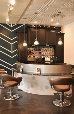 Home Bar Designs, Bar Decor, Bar Corner, Drinking Space, Alcohol Lover, House Makeover, House Remodeling