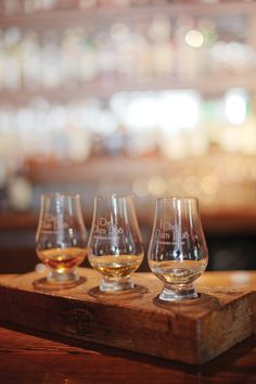 The Dam Pub in Thornbury, Ontario serves over types of whisky! Enjoy a Whisky Tasting at the pub every Tuesday of the month! Whisky Tasting, Wine And Spirits, Distillery, Ontario, Wine Glass, Tuesday, Beer, How To Make, Root Beer