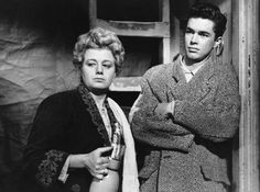 Shelley Winters and Richard Beymer in The Diary of Anne Frank