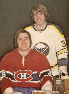 Brothers Ken and Dave Dryden. Women's Hockey, Blackhawks Hockey, Hockey Games, Hockey Players, Montreal Canadiens, Mtl Canadiens, Nhl, Ken Dryden, Boston Bruins Hockey