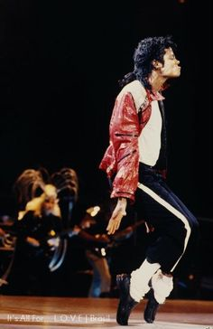 Michael Jackson. He too had stiffened shoes built in the toe section.