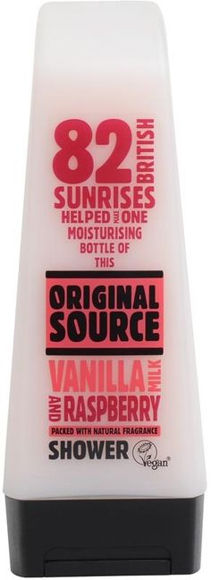 Original Source Shower Gel 250ml Vanilla Milk & Raspberry Buy Online at Best Price in India: BigChemist.com