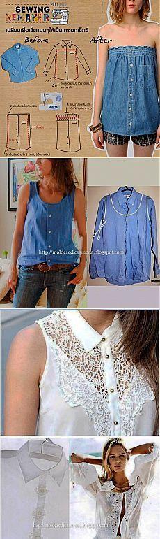 Las ideas de los rehacimientos de las camisas (la elección) / las Camisas /