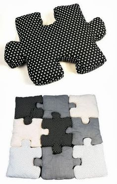 Do It Yourself Today: Beautiful Puzzle Pillows