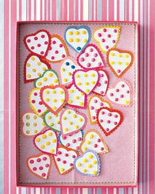 Sweet Spot Hearts | Step-by-Step | DIY Craft How To's and Instructions| Martha Stewart