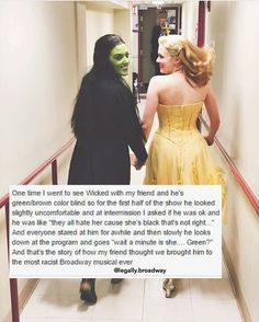 Wicked: A História Não Contada das Bruxas de Oz (Wicked: The Untold Story of the Witches of Oz) é um Stupid Funny, Funny Cute, The Funny, Funny Jokes, Weird Funny Names, Freaking Hilarious, Hilarious Stuff, Theatre Nerds, Musical Theatre