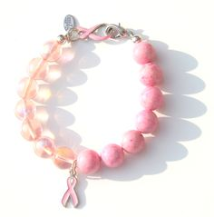 Lucky Pink geluksarmband voor Pink Ribbon € 29,95 -> Jewellicious Designs doneert € 4,05 aan Pink Ribbon.