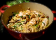 Coq au Vin for a slow cookin' fall supper