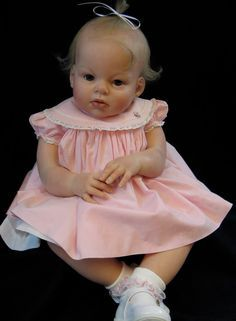 This is a custom order for a reborn toddler created as a one of a kind from Reva Schicks Ariana kit. It will be completed according to your