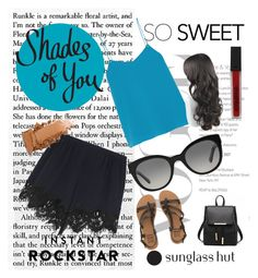 """Shades of You: Sunglass Hut Contest Entry"" by andra-cenan-glavan ❤ liked on Polyvore featuring Chloé, TIBI, Burberry, Smashbox, Billabong and shadesofyou"