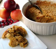 Mystery Lovers' Kitchen: Spiced Apple and Brown Sugar Spoonbread: An Easy Bread Pudding by Cleo Coyle #apples @Cleo Coyle