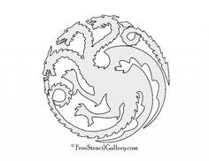 Game-of-Thrones-House-Targaryen-Sigil-Stencil-1024x791.jpg (1024×791)