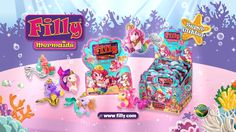 Let's collect all the Filly Mermaids friends in this summer Animal Jam, Mermaids, Birthday, Inspiration, Friends, Summer, Biblical Inspiration, Amigos, Birthdays