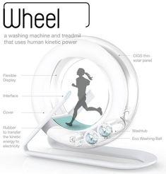 Wheel- washing machine concept 2