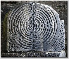 Irish finger labyrinth. According to Irish and English ancient legends the fairies danced on labyrinth spirals in the moonlight; in accordance to Norwegian popular beliefs stone rows made by ice-giants; by Swedish tales labyrinths mark the enters into underground palaces. Most of modern researches consider labyrinths as religious structures.