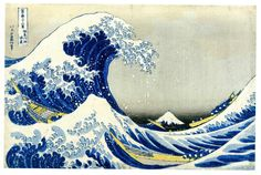 "HOKUSAI KATSUSHIKA (ukiyo-e artist) ""The Great Wave"", 1829–32,"