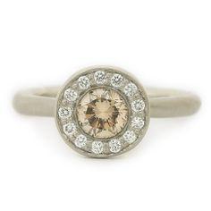 Anne Sportun Raw Diamond Ring