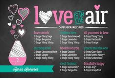 Love Is In The Air Diffuser Blend Recipes #PatchouliEssentialOilbenefits