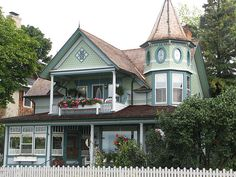 Beautiful Victorian on Mackinac Island