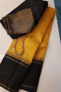 Cotton Saree Blouse Designs, Bridal Blouse Designs, Simple Saree Designs, Silk Sarees Online Shopping, Kids Dress Patterns, Wedding Silk Saree, Saree Trends, Saree Models, Organza Saree