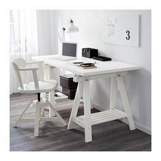 LINNMON / FINNVARD Pöytä - valkoinen - IKEA