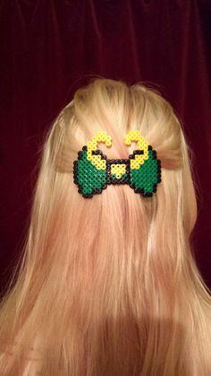 Loki sur le thème Barrette barrette Bow par Harribeads sur Etsy