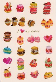 macaroon colours