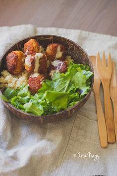 Ropogós vöröslencse fasírt (laktózmentes, gluténmentes, vegán) | Zizi kalandjai – Valódi ételek, valódi történetek