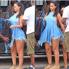 Robyn Rihanna Fenty is a Barbadian singer, businesswoman, fashion designer, actress, and philanthropist. She is known for embracing various musical styles and reinventing her image throughout her career. Rihanna Bikini, Rihanna Riri, Rihanna Style, Rihanna Outfits, Fashion Outfits, Rihanna Thick, Plus Size Kleidung, Models, Beautiful Black Women