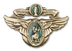 Traditional Catholic Visor Clip Our Lady of The Highway//Holy Spirit