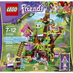 LEGO® Friends Jungle Tree Sanctuary 41059?wid=280&hei=280