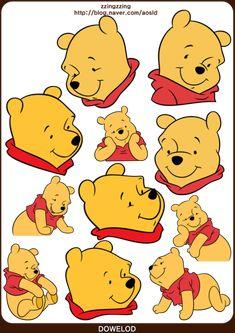 ★포토샵 스티커,디즈니 스티커 모음 62장! 미키마우스와 공주들 그리고 푸우 등등! 포토샵 디즈니 스티커 ... Winne The Pooh, Winnie The Pooh Quotes, Winnie The Pooh Friends, Winnie The Pooh Background, Disney Background, Cartoon Character Pictures, Disney Drawings Sketches, Disney Doodles, Planner Doodles