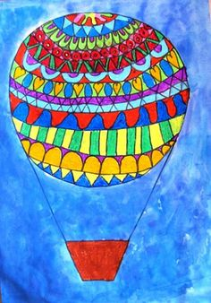 "From exhibit ""Grade 1 2013 'Hot Air Balloons'"" by Gemma142"
