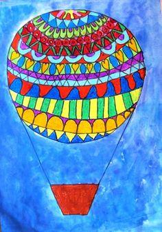"From exhibit ""Grade 1 2013 'Hot Air Balloons'"" by Gemma142"