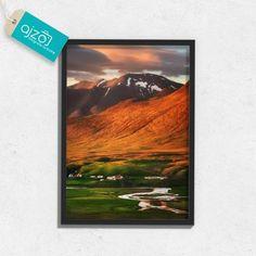 Plakat w ramie Górski krajobraz do salonu 50x70cm