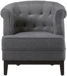 Travette Tufted Chair - Accent Chairs - Living Room - Furniture | HomeDecorators.com