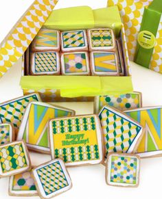 Yellow Gift Box recently featured in an exclusive Modern Bite for Fab.com sale!