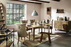 Stuhl in Taupe online bestellen Conference Room, Dining Table, Furniture, Home Decor, Dinner Room, Ad Home, Timber Wood, Dinning Table, Meeting Rooms