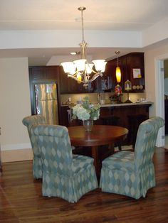 A beautiful condo showroom created by Margo Young, certified interior decorator