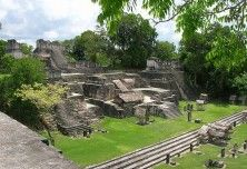 Aguateca Archaeological Sites in Guatemala