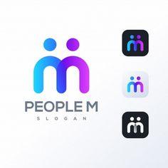 Vector Premium | Logotipo de la letra m Abstract Logo, Geometric Logo, Logo Design Template, Logo Templates, Logo Smart, Money Logo, Letter M Logo, Globe Logo, People Logo