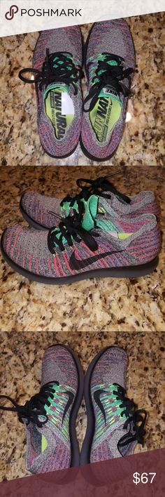 Nike Free Run Fly Knit Women's 6 1/2 EUC EUC size 6.5 rare color model 831070-108. I ship free and give discounts for bundles. Please check out my other items. We are purging this week Nike Shoes Athletic Shoes