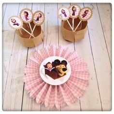 Para uma festa cheia de estilo da Masha e o urso! #mashaandthebear #party #partykit #birthday #girl
